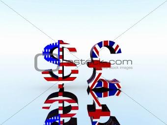 British Pound And US Dollar 22
