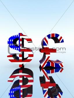 British Pound And US Dollar 23