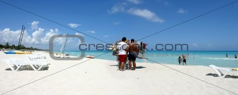 tourism of mass in Cuba