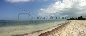 Beach in la Trinidad in Cuba
