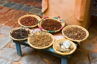 Arab cooking spices