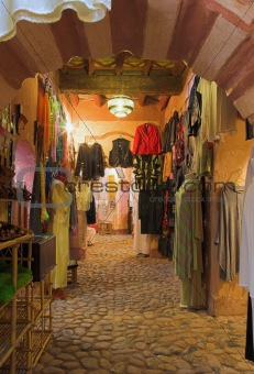 Arab fashion shop (Morocco)