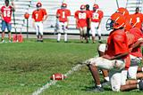 High School Football Line