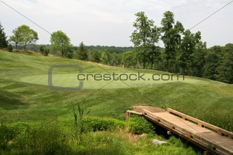 Bridge to Golf Green