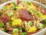 Fried Rice and Chinese Sausage