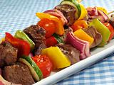 Steak &amp; Vegetable Kebabs