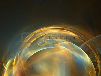 Abstract background. Orange - blue palette.