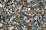Pebbles on sea shore