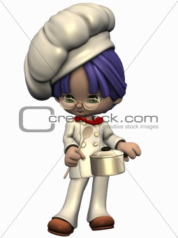 Little Cook - Toon Figure