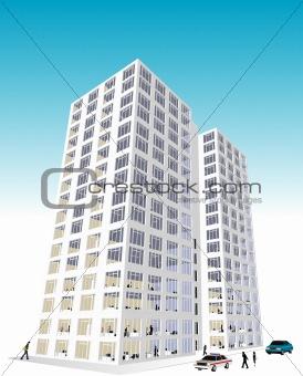 Skyscraper / Office Block