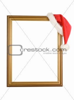 Christmas cap and frame