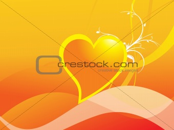 abstract valentine heart series7, design11