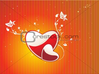 abstract valentine heart series7, design15