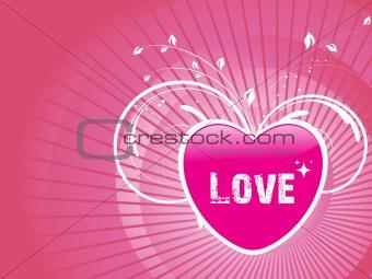 abstract valentine heart series7, design20