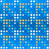 Dotted arrows seamless pattern