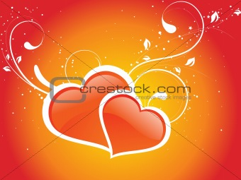 abstract valentine heart series7, design33