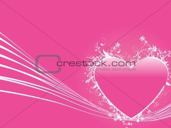 abstract valentine heart series7, design36