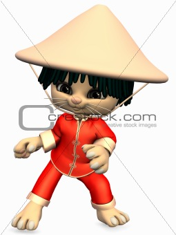 Little China-Toon Figure