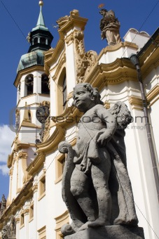angel for the loreto church - prague