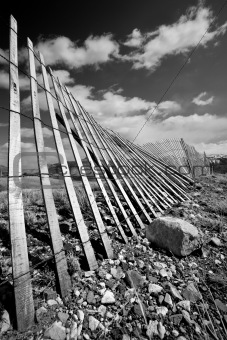 old rural fence