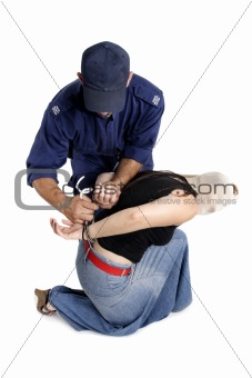 Arresting a criminal