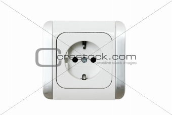 Power Socket European (Flat)