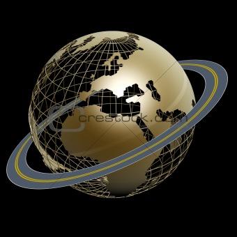 circle road around world