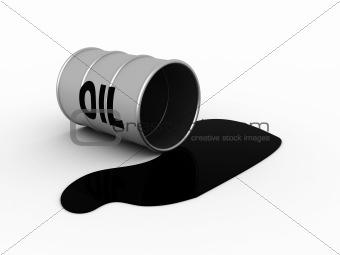 Oil flank