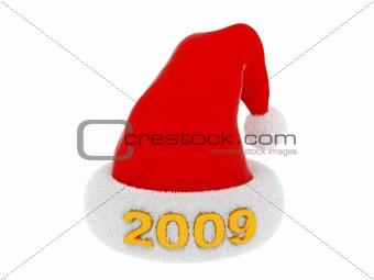 2009 Santa`s hat