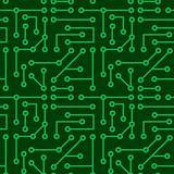 Electronic seamless texture