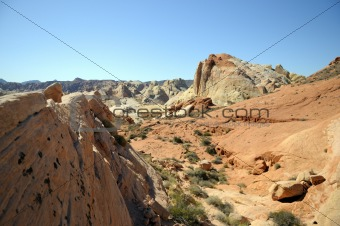 Beautiful Red Rock Formations