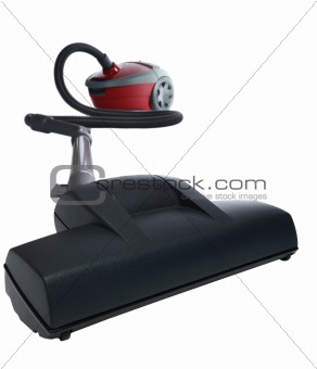 Vacuum cleaner perspective view