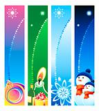Christmas banner backgrounds