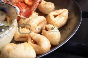 calamari deep fried