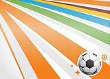 abstract background football, illustration