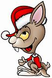 Brown Santa Rabbit