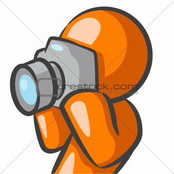 Orange Man Photographer