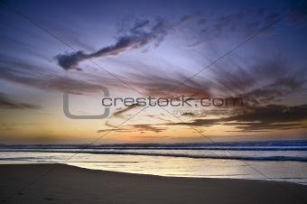 beach sunset Herzelia