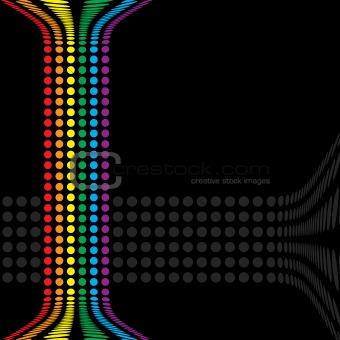 Rainbow Circles Layout