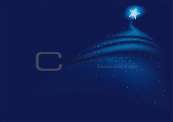 Blue Christmas Bckg