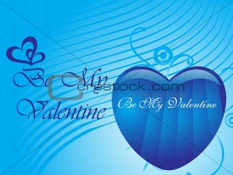 abstract vector background with valentine ornament, design12