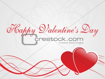 abstract vector background with valentine ornament, design13