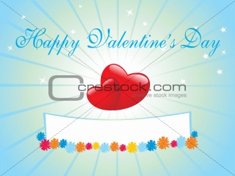 abstract vector background with valentine ornament, design14