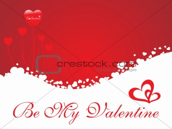 abstract vector background with valentine ornament, design15