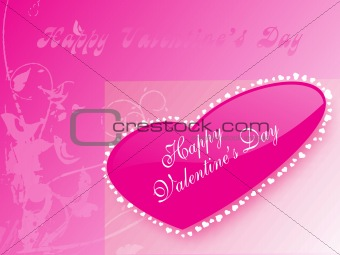 abstract vector background with valentine ornament, design19