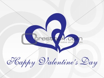 abstract vector background with valentine ornament, design2