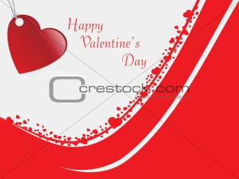 abstract vector background with valentine ornament, design22