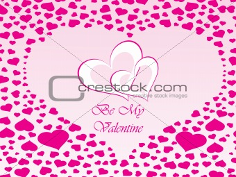 abstract vector background with valentine ornament, design5