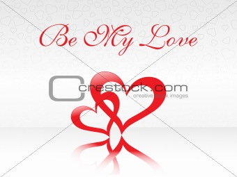 abstract vector background with valentine ornament, design6
