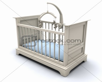 Cot for baby boy